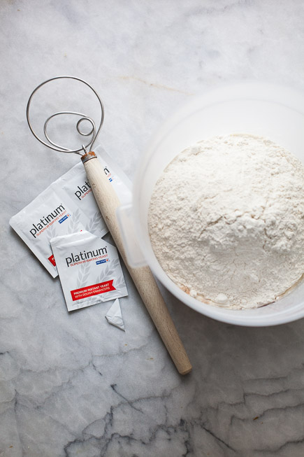 Flour, Danish Dough Whisk and Yeast | Artisan Bread in Five Minutes a Day