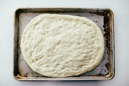 Pizza Dough on a Sheet Pan | Artisan Bread in Five Minutes a Day
