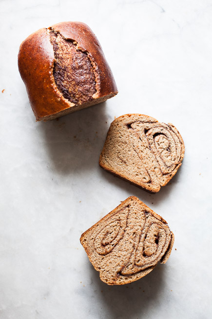 Nutella Swirl Bread| Breadin5 (1 of 9)