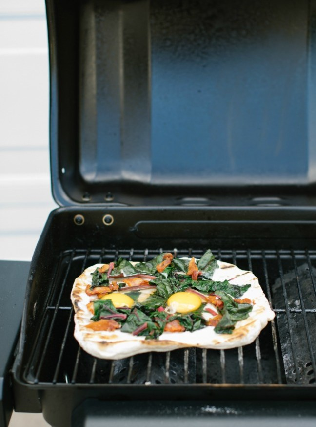 Grilled Breakfast Pizza Recipe | Artisan Bread in Five Minutes a Day
