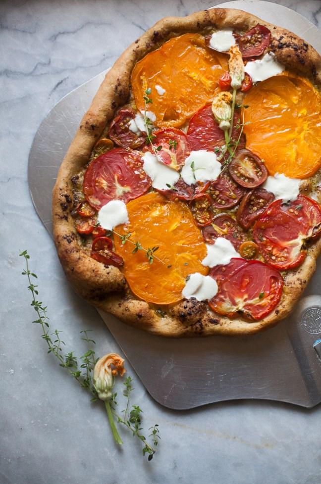 Tomato Pizza | Breadin5 photo by Zoë François