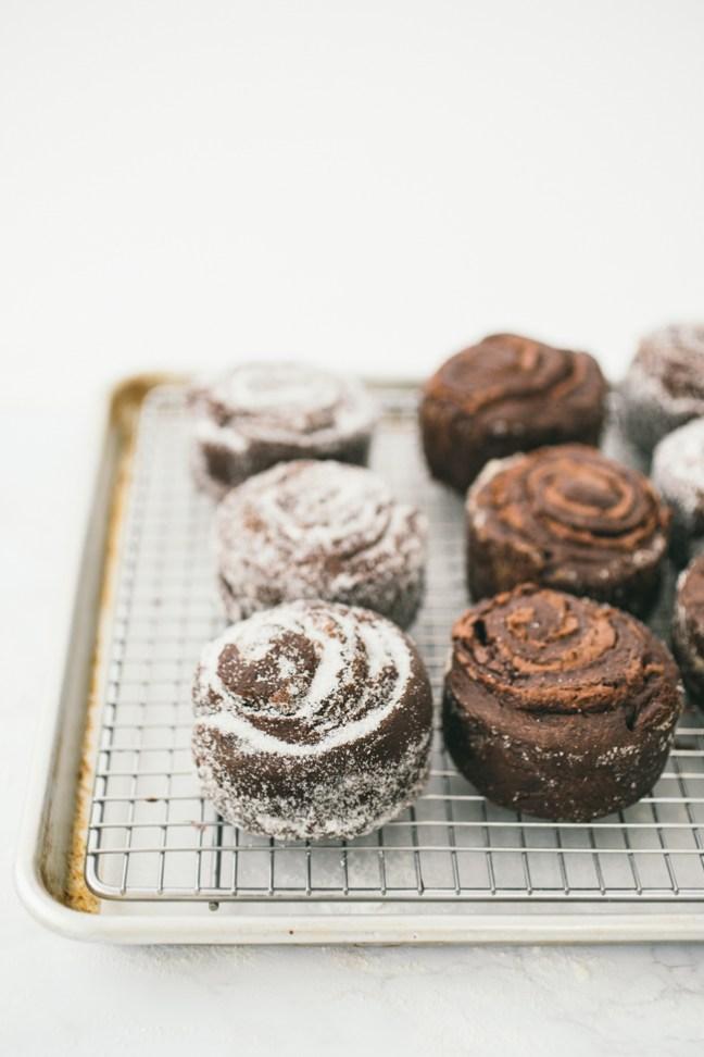 chocolate nutella swirl buns