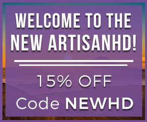 Use Promocode NEWHD to Save 15% on ALL Professional Printing from ArtisanHD.com Site-Wide During ArtisanHD 's Professional Photo Printing New Site Launch Sale