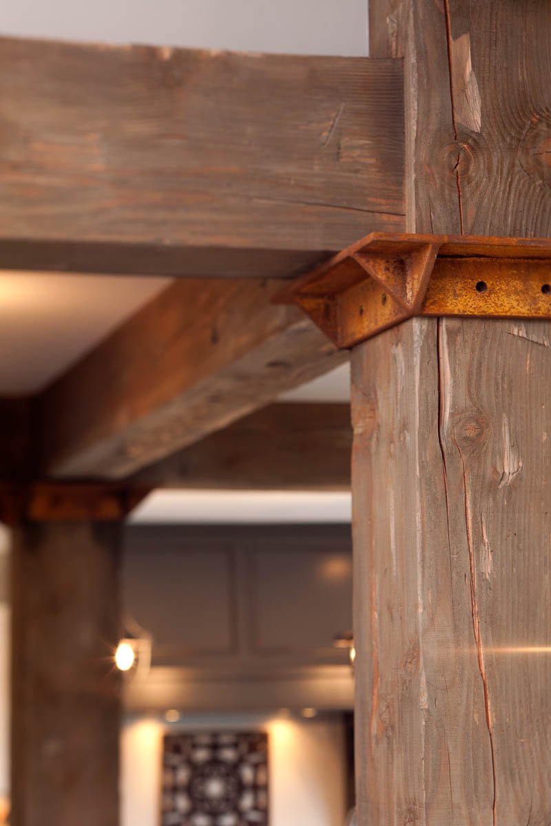 Reclaimed Wood Kitchen Countertops