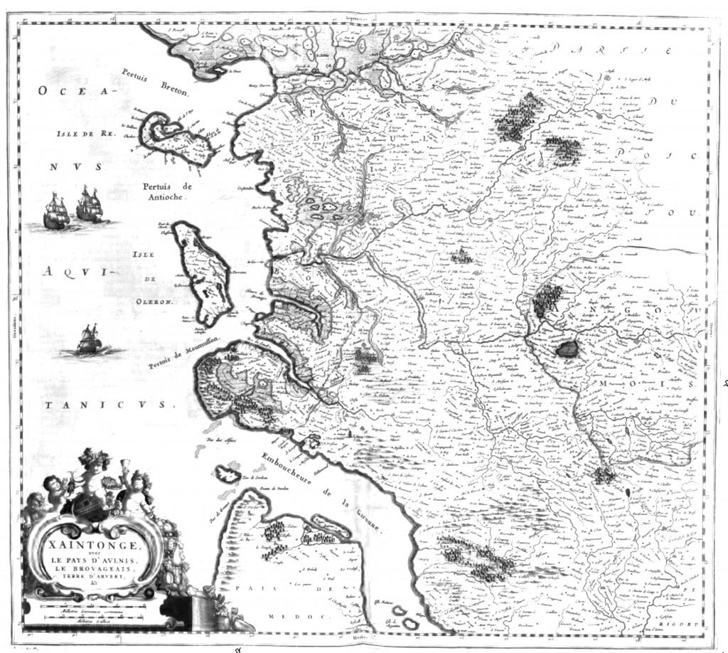 Xaintonge avec le pays d'Aulnis, le Brovageais, terre d
