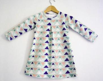 Robe Busy Forest aux triangles 1