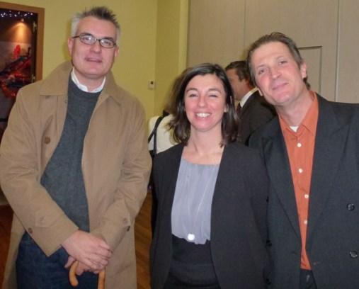 Jérôme VERDIER (Alran SAS), Isabelle de la RAITRIE (Editions Privat), et Didier BOINNARD (Artisan Pastellier)