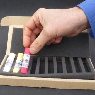 coffret 10 pastels secs à composer