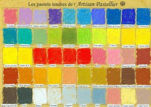 nuancier 40 couleurs
