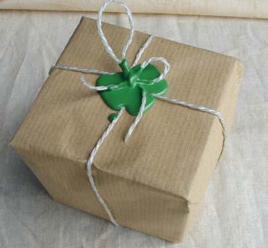 paquet cacheté