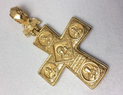 22kt Gold Liturgical Cross