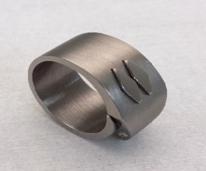 Ruthenium Plated Ring