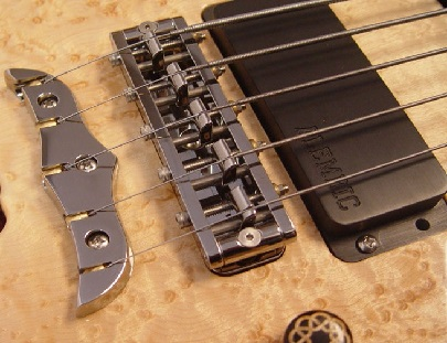 Ruthenium plated guitar hardware