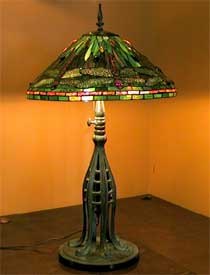 Lampe Tiffany Libellule 20″