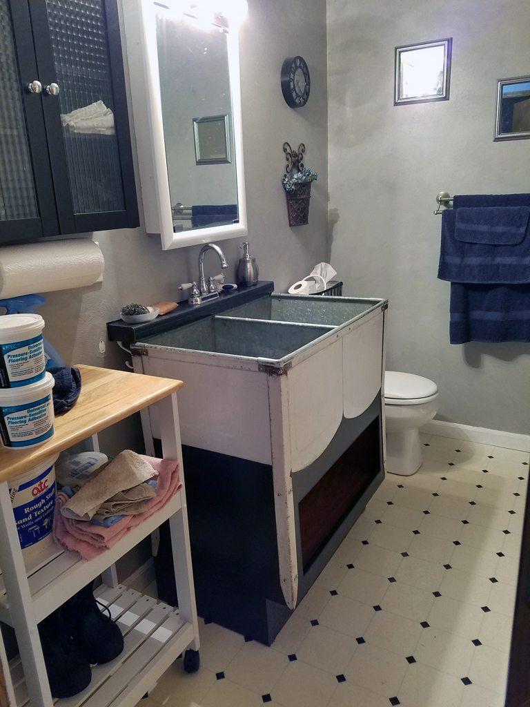 Vintage Double Utility Sink Amp Hallway Artisans Shop Llc