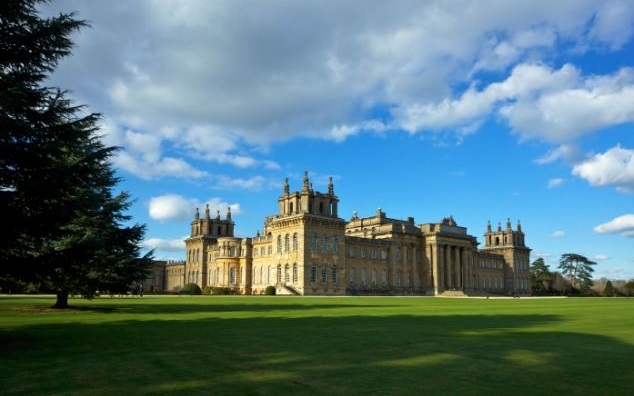 Blenheim Palace had suffered almost 200 years of financial troubles which almost ended in bankruptcy. The estate was saved when the 9th Duke of Marlborough married American heiress, Consuelo Vanderbilt, who brought in a dowry worth over $62 million by today's standards. Photo courtesy of Alamy on Wikipedia