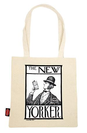 The New Yorker tote bag from The Strand