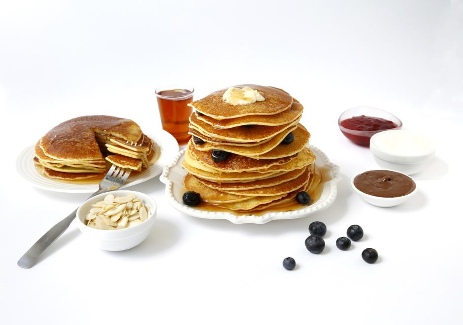 Gluten Free Rice Pancakes