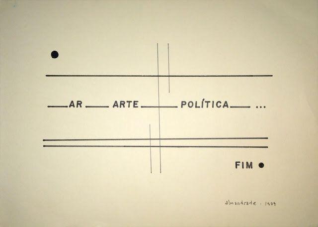 Almandrade, Sin título, 1979, tinta china sobre papel Canson, 22.5 × 31.5 cm. Cortesía: Baró Galeria
