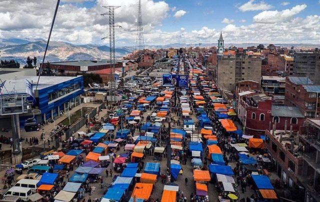Feria 16 de julio. Foto: El Alto Digital
