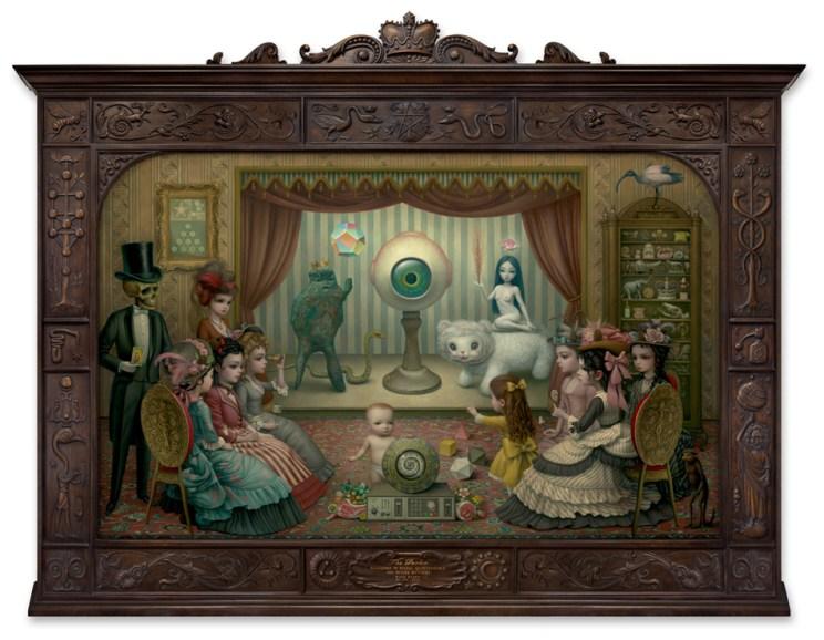Alegoría de la mágia, quinta esencia y misterio divino