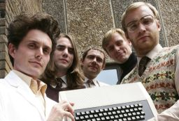 Micro Men - Steve Furber on the very right