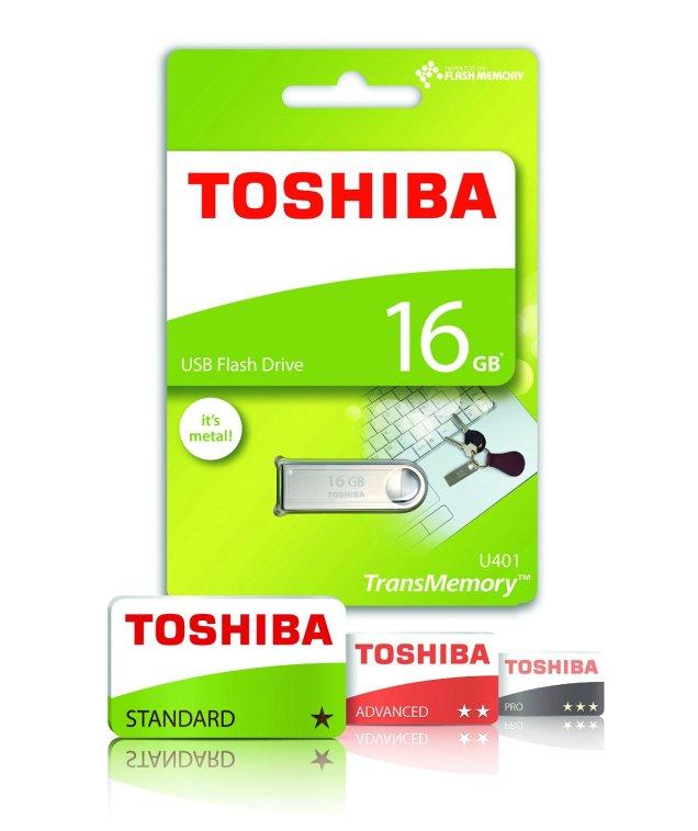 Toshiba U401 Packaging