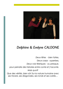 Delphine et Evelyne Caloone