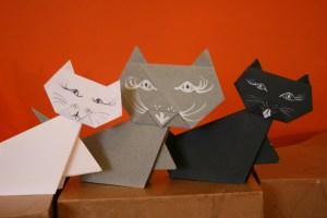 Chat blanc chat noir