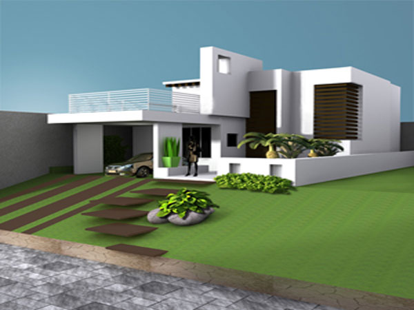 House Villa Home Residence Cottage House Max 3ds Max Software