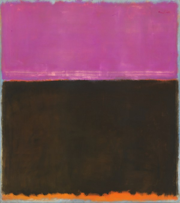 Rare And Major Mark Rothko Retrospective Museum Of Fine