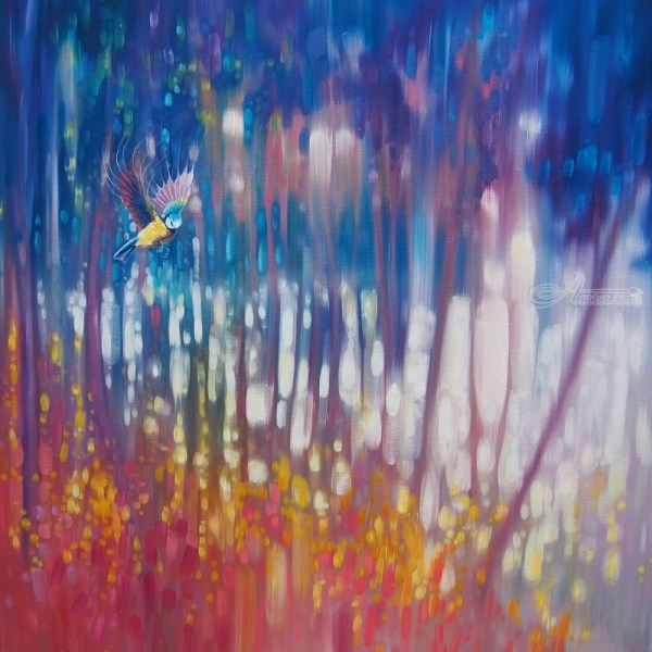 Abstract Nature Oil Paintings