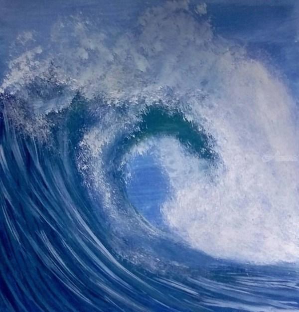 Ocean Waves Paintings Chel Alisago