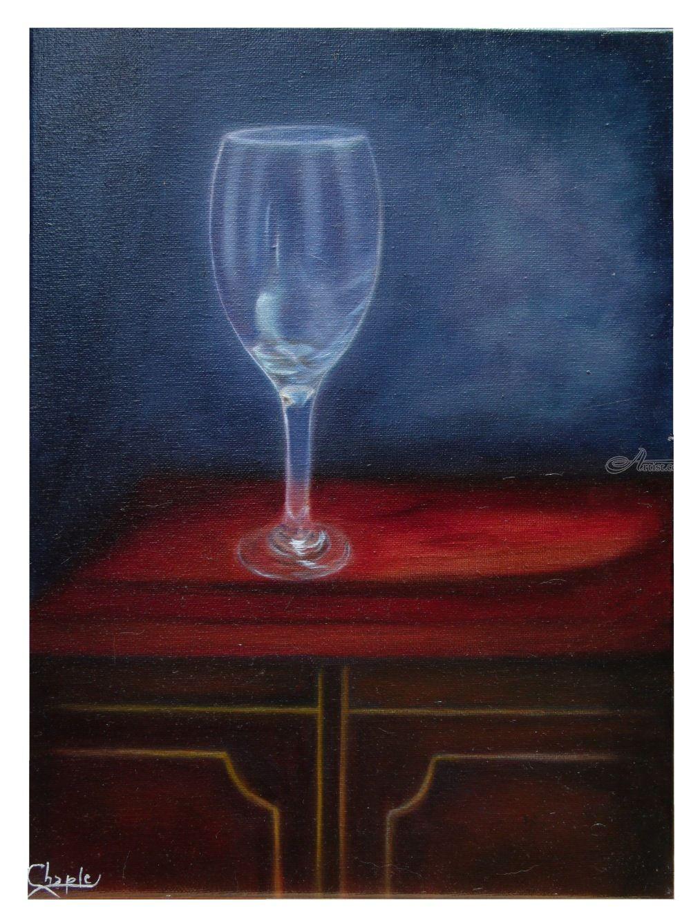 Glass Cup Painting : glass, painting, Glass, Paintings, Chaple, Artist.com