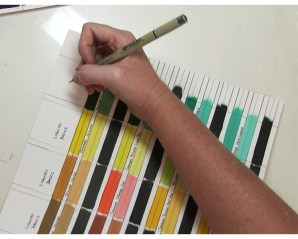 Labeling Swatches