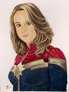 Captain Marvel Fan Art