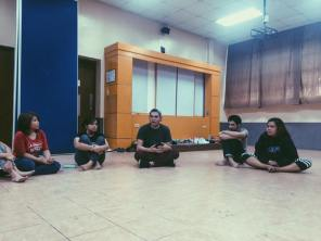 S27 Artistic Director Roi Calilong for the Acting workshop.