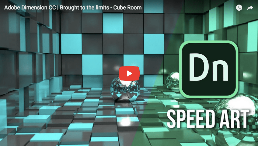 DN TUTORIAL: Adobe Dimension CC | Brought to the limits