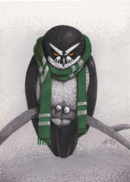 2013 Slytherins Spectacled Owl