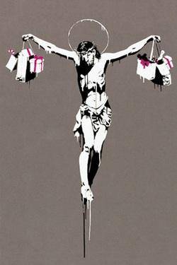 """Résultat de recherche d'images pour """"Jesus Christ with Shopping Bags, 2005"""""""