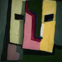 Imagination - 1984 Acrylique sur masonite 21cm X 26cm Louis Fortier PRIX : 125$