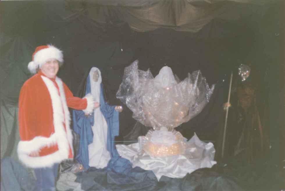 Crèche de Noël Galeries de la Canardière Novembre 1992 Photo 2