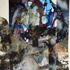 Cathédrale - 1994-1997 Acrylique sur acétate 46cm X 38cm Louis Fortier PRIX : 225$