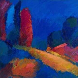 Forêt brunante - 1982 Acrylique sur masonite 41cm X 51cm Louis Fortier PRIX : 400$ (Inclus encadrement)