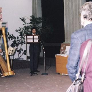 Fortier expose en solo à la Galerie Anima G, située au 31è étage du Complexe G Janvier 1988