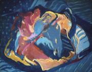 Perroquet - 1982 Acrylique sur masonite 51cm X 41cm Louis Fortier