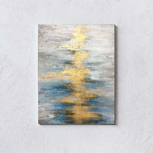 River of Gold White Wall