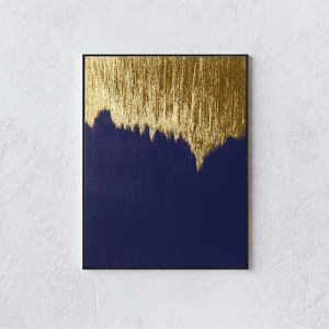 Streaming Gold White Wall
