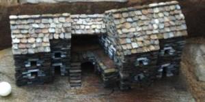 Miniatures en Lauze Ardèche