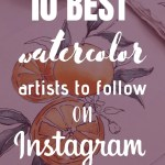 9 Most Inspiring Watercolor Artists on Instagram 1